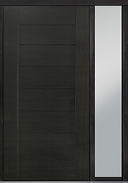 Custom Pivot Front  Door Example, Mahogany-Wood-Veneer-Espresso DB-PVT-711 1SL18 48x96