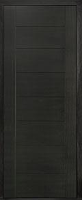 Custom Pivot Front  Door Example, Mahogany Wood Veneer-Espresso DB-PVT-711 42x108