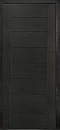 Custom Pivot Front  Door Example, Mahogany Wood Veneer-Espresso DB-PVT-711 42x96