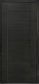 Custom Pivot Front  Door Example, Mahogany Wood Veneer-Espresso DB-PVT-711 48x108