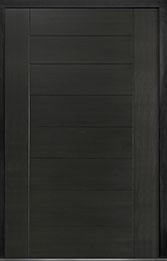 Custom Pivot Front  Door Example, Mahogany-Wood-Veneer-Espresso DB-PVT-711 60x96