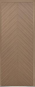 Custom Pivot Front  Door Example, Oak Wood Veneer-Light-Loft DB-PVT-715 42x108