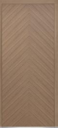 Custom Pivot Front  Door Example, Oak Wood Veneer-Light-Loft DB-PVT-715 42x96