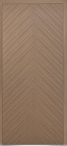 Custom Pivot Front  Door Example, Oak Wood Veneer-Light-Loft DB-PVT-715 48x108
