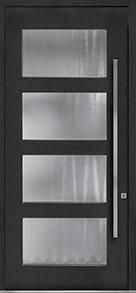 Custom Pivot Front  Door Example, Mahogany-Coffee-Bean DB-PVT-823 48x108