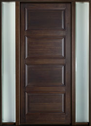 Front Wood Door - Custom