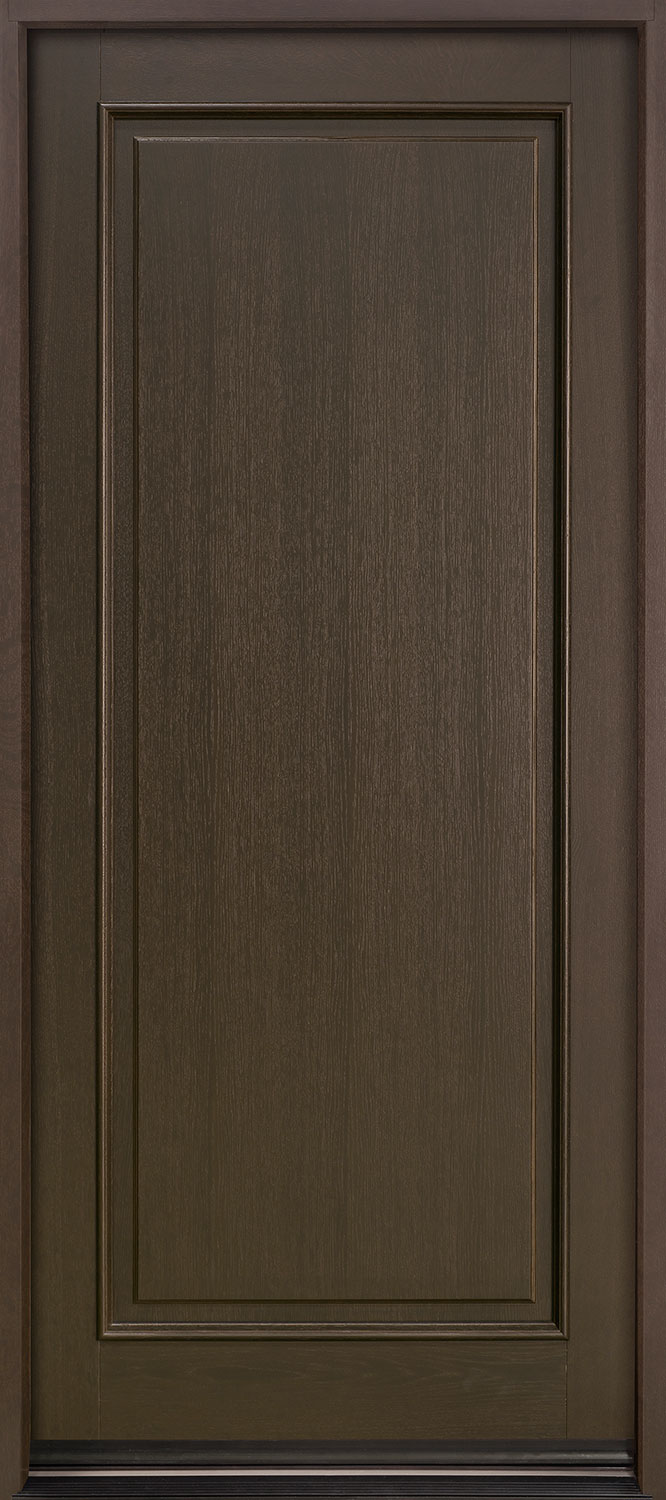 Classic Series Mahogany Wood Front Door  - GD-001PW