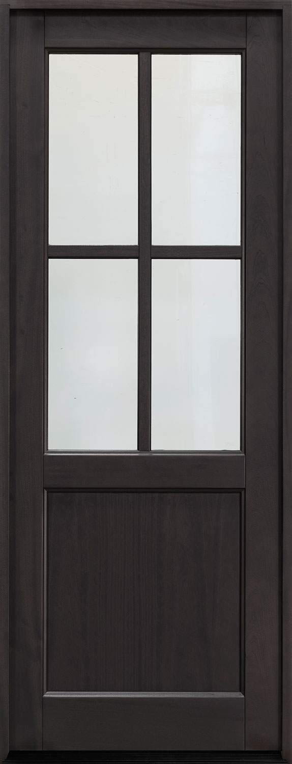 Classic Series Mahogany Wood Front Door  - GD-004PT
