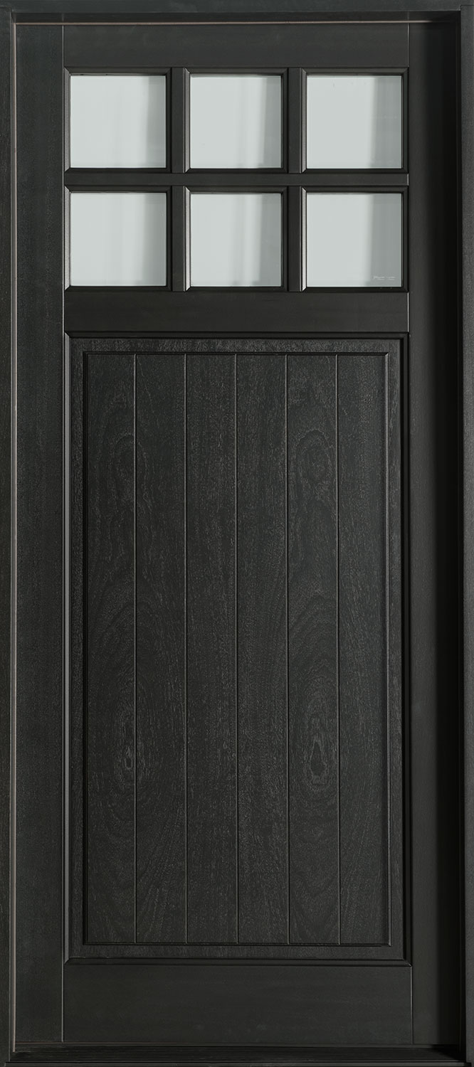 Classic Series Mahogany Wood Front Door  - GD-113PW