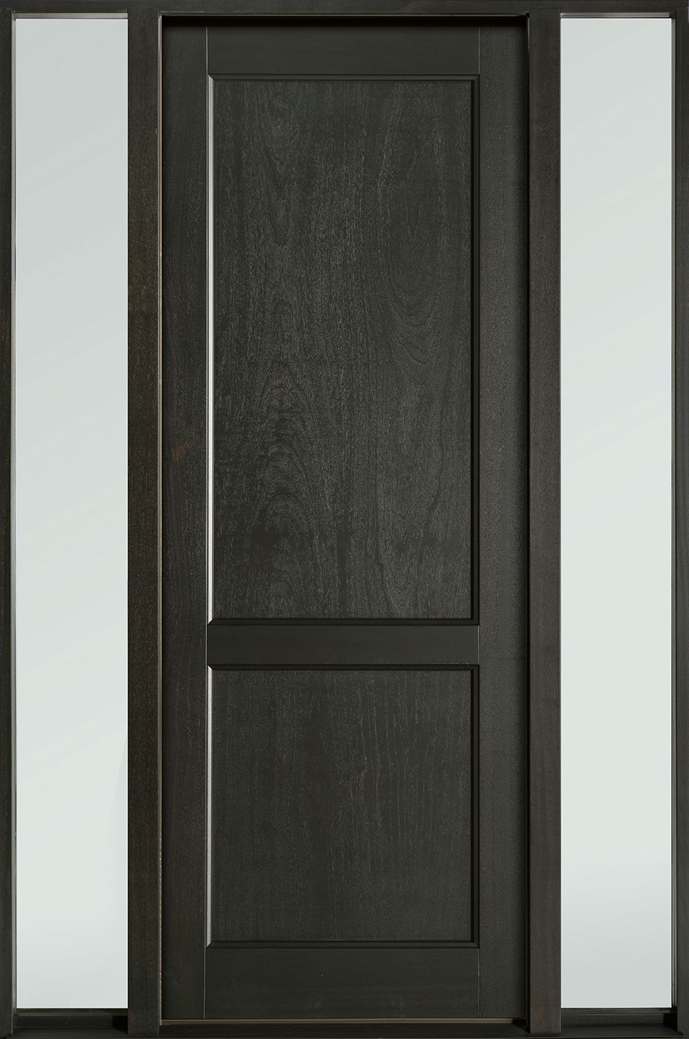Classic Series Mahogany Wood Front Door  - GD-201PT 2SL-F
