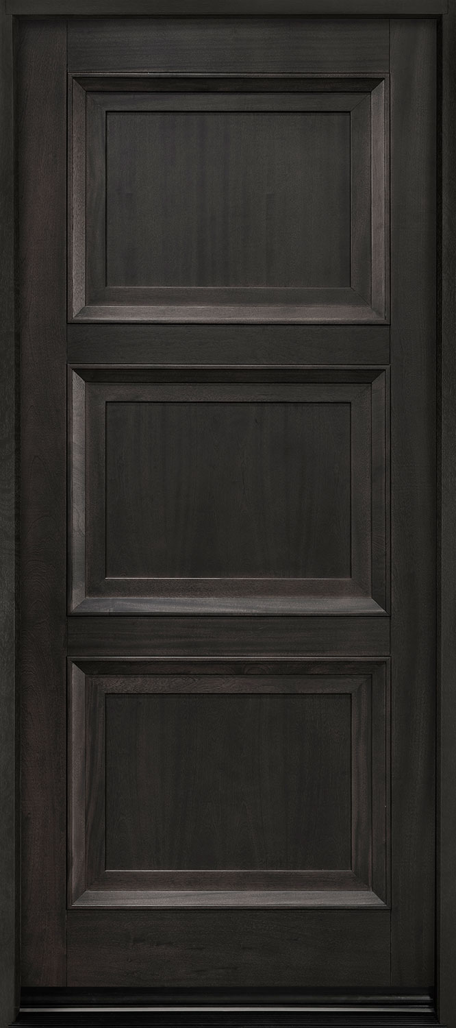 Classic Series Mahogany Wood Front Door  - GD-314PW