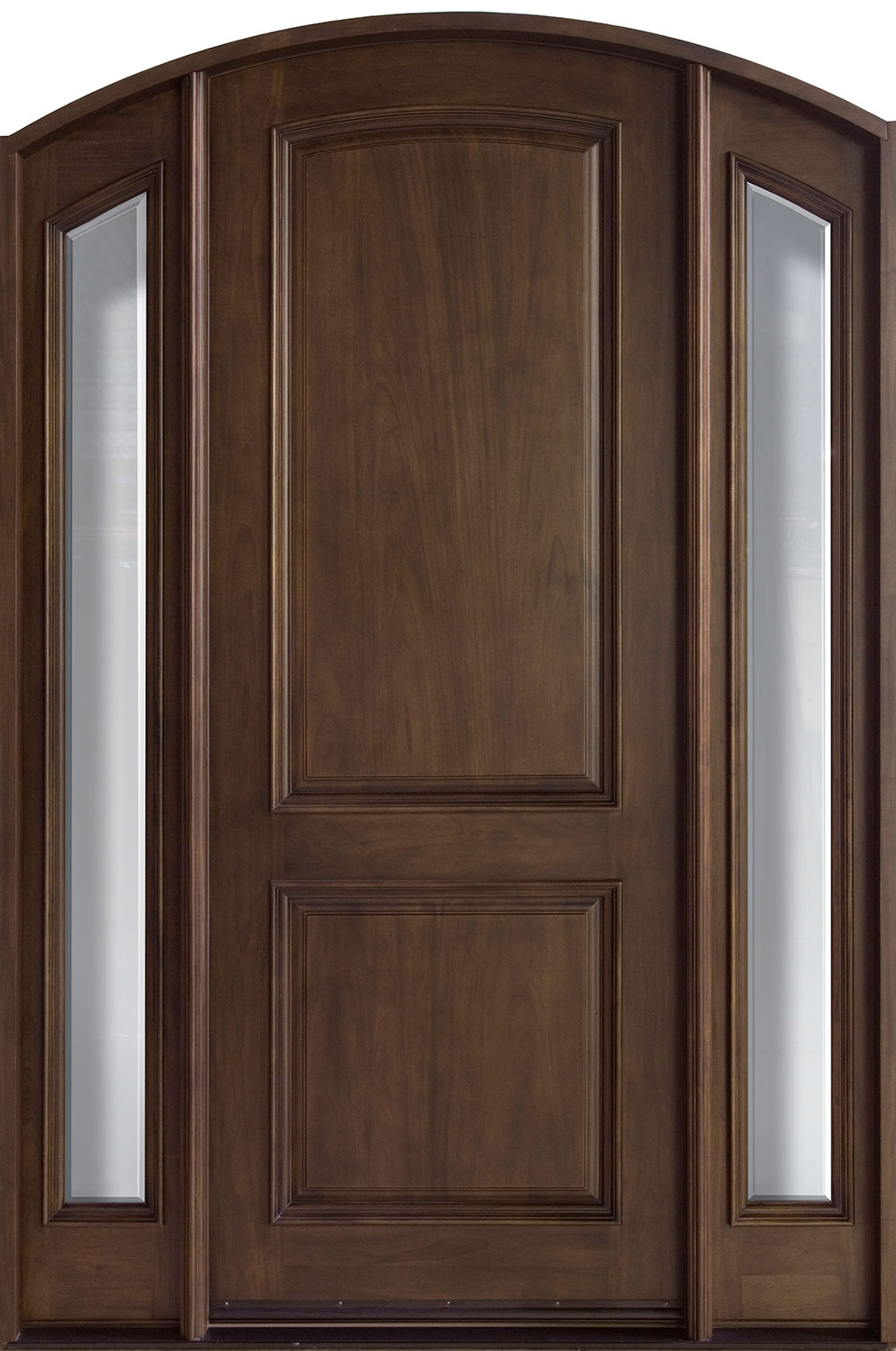 French Mahogany Wood Front Door  - GD-552 2SL