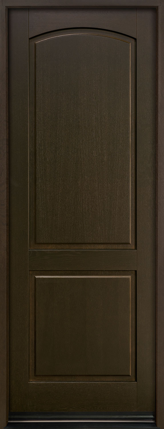 Classic Series European White Oak Wood Front Door  - GD-701PT
