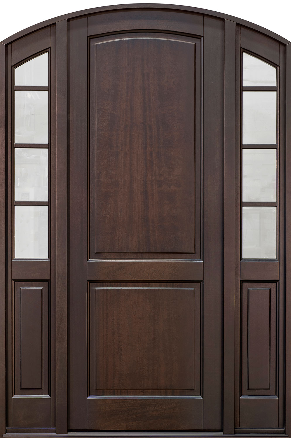 Classic Series Mahogany Wood Front Door  - GD-802PT 2SL