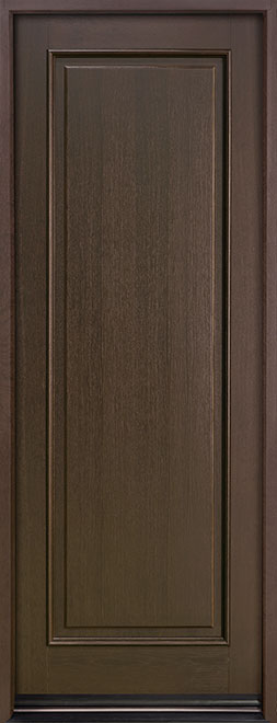 Classic Series Mahogany Wood Entry Door - Single - DB-001PT