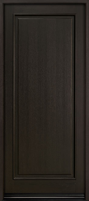 Classic Series Mahogany Wood Entry Door - Single - DB-001PW