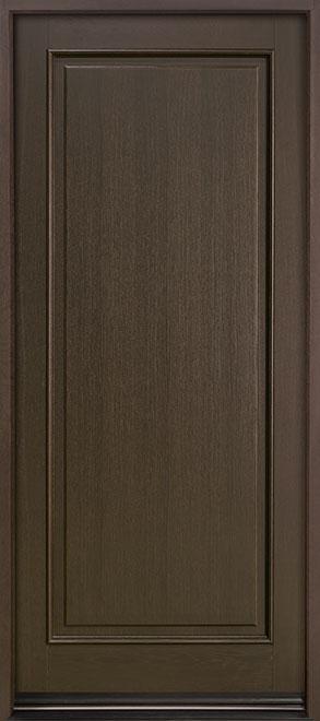 Classic Series Mahogany Wood Entry Door - Single - DB-001PW