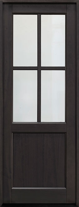 Classic Series Mahogany Wood Entry Door - Single - DB-004PT