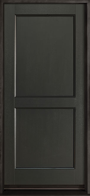 Classic Series Mahogany Wood Entry Door - Single - DB-201PS