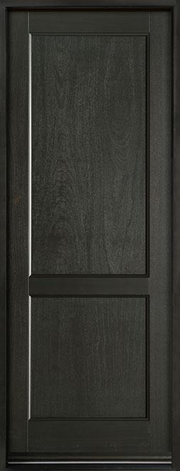 Classic Series Mahogany Wood Entry Door - Single - DB-201PT