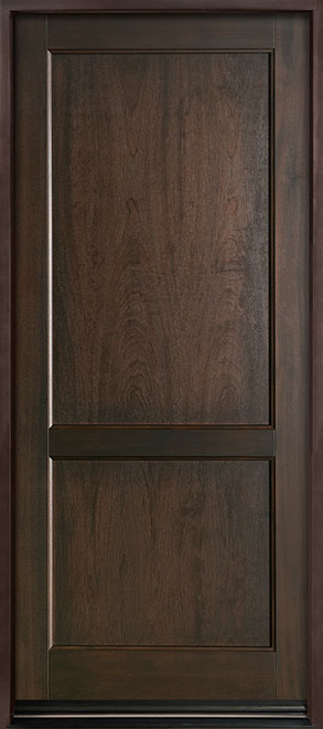 Classic Series Mahogany Wood Entry Door - Single - DB-201PW
