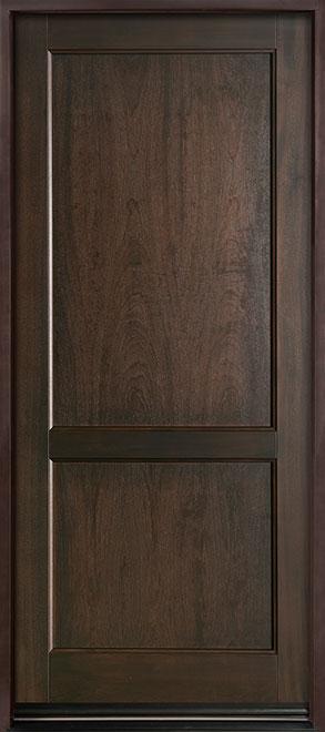 Classic Series Mahogany Wood Entry Door - Single - DB-201PW