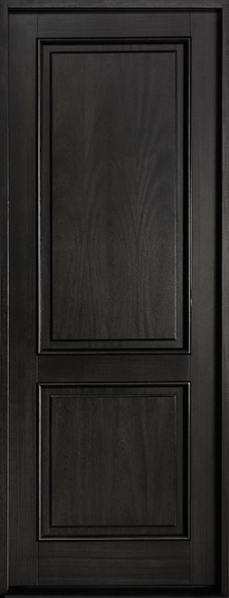 Classic Series Mahogany Wood Entry Door - Single - DB-302PT