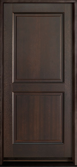 Classic Series Mahogany Wood Entry Door - Single - DB-303PS