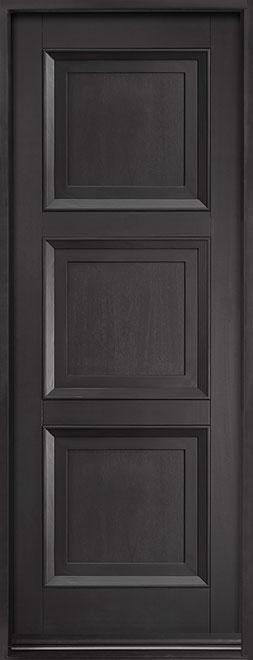 Classic Series Mahogany Wood Entry Door - Single - DB-314PT