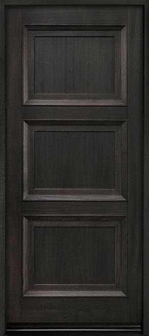 Classic Series Mahogany Wood Entry Door - Single - DB-314PW