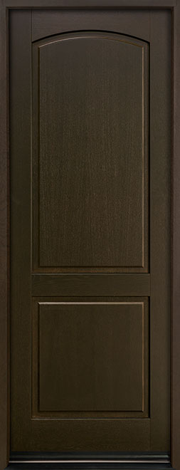 Classic Series European White Oak Wood Entry Door - Single - DB-701PT