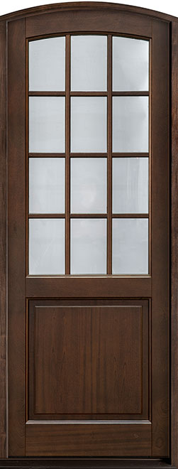Classic Series Mahogany Wood Entry Door - Single - DB-801PT