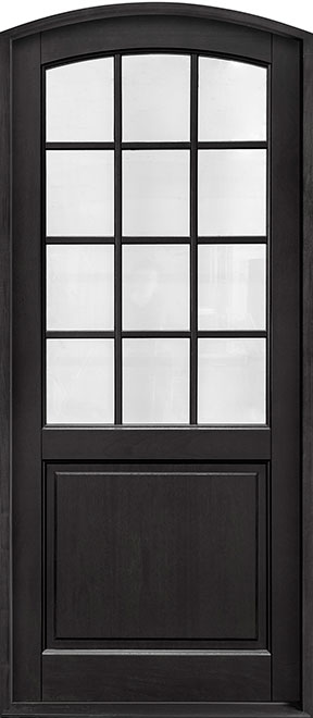 Classic Series Mahogany Wood Entry Door - Single - DB-801PW