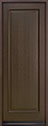 DB-001PT Mahogany-Walnut Wood Entry Door