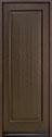 -001PT Mahogany-Walnut Wood Entry Door