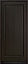 DB-001PW Mahogany-Espresso Wood Entry Door