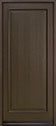 DB-001PW Mahogany-Walnut Wood Entry Door