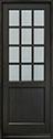 DB-012PT Mahogany-Espresso Wood Door - in-Stock