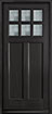 DB-112PS Mahogany-Espresso Wood Entry Door