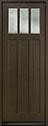 DB-114PT Mahogany-Walnut Wood Door - in-Stock