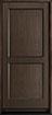 DB-201PS Mahogany-Walnut Wood Entry Door