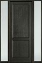 DB-201PT 2SL-F Mahogany-Espresso Wood Door - in-Stock