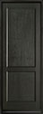 DB-201PT Mahogany-Espresso Wood Entry Door