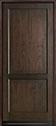 DB-201PW Mahogany-Walnut Wood Door - in-Stock