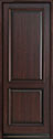 DB-301PT Mahogany-Dark Mahogany Wood Entry Door