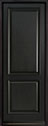 DB-301PT Mahogany-Espresso Wood Entry Door