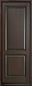 DB-301PT Mahogany-Walnut Wood Entry Door