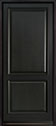 DB-301PW Mahogany-Espresso Wood Entry Door