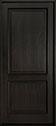 DB-302PW Mahogany-Espresso Wood Entry Door