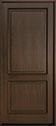DB-302PW Mahogany-Walnut Wood Door - in-Stock